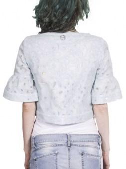Пиджак  голубой Blugirl Folies 05156. Image 2