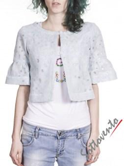Пиджак  голубой Blugirl Folies 05156. Image 1