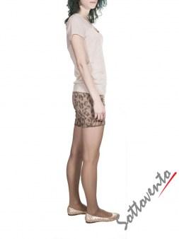 Шорты коричневые  Blugirl Folies 4242. Image 3