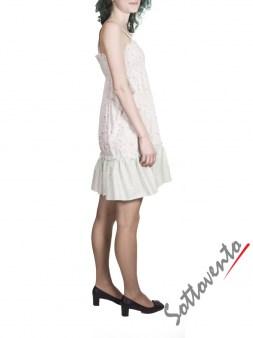 Сарафан бело-розовый  Blugirl Folies 3914. Image 3