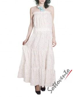 Сарафан бело-розовый Blugirl Folies 3913. Image 1
