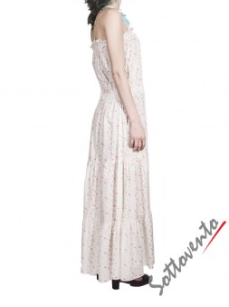 Сарафан бело-розовый Blugirl Folies 3913. Image 3
