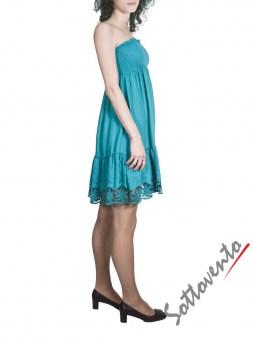 Платье бирюзовое  Blugirl Folies 3911. Image 2