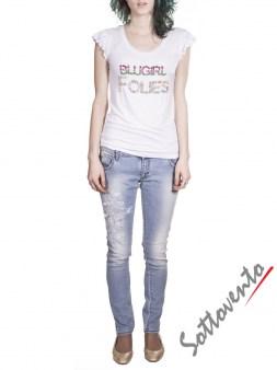 Джинсы голубые  Blugirl Folies 4213. Image 3
