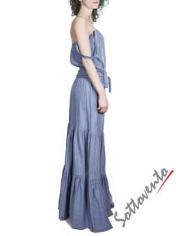Платье джинсовое  Blugirl Folies 3927. Image 3
