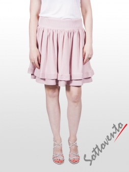 Юбка розовая  Valentino Red 9Е852. Image 0