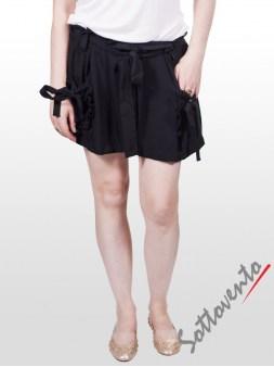 Шорты чёрные  Valentino Red OA8BO Image 1