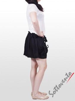 Шорты чёрные  Valentino Red OA8BO Image 4