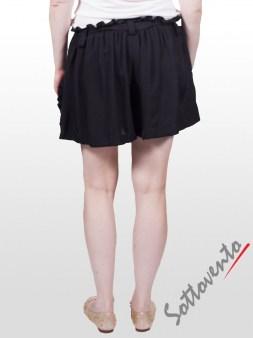 Шорты чёрные  Valentino Red OA8BO Image 2