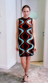 Платье  с цветными разводами  Missoni M CDA9A4TO Image 0