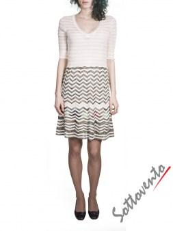 Платье бело-зелёное  Missoni M CDA9A4D5. Image 0