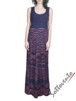 Платье розово-синее  Missoni M CDA9A4DO Image 0