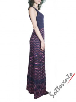 Платье розово-синее  Missoni M CDA9A4DO Image 2