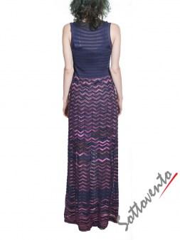 Платье розово-синее  Missoni M CDA9A4DO Image 1