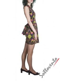 Платье  розово-зелёно-фиолетовое Missoni M CDANA4EO Image 3