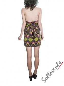 Платье  розово-зелёно-фиолетовое Missoni M CDANA4EO Image 2