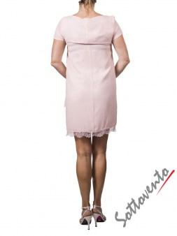 Платье розовое  Ki6? Who are you? АВ70. Image 2