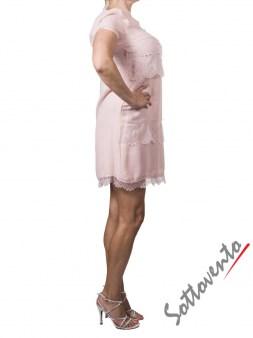 Платье розовое  Ki6? Who are you? АВ70. Image 3
