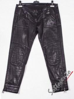 Брюки чёрные кожаные Richmond 2010. Image 0