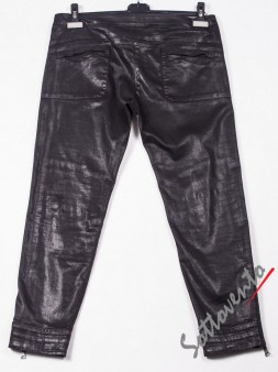 Брюки чёрные кожаные Richmond 2010. Image 1