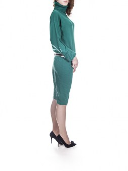 Платье зелёное  Panicale Cashmere 5979. Image 2