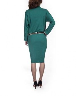 Платье зелёное  Panicale Cashmere 5979. Image 1