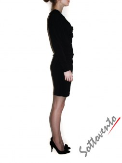 Платье чёрное  Philipp Plein 410013 Image 2