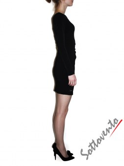 Платье чёрное Philipp Plein 410112 Image 2