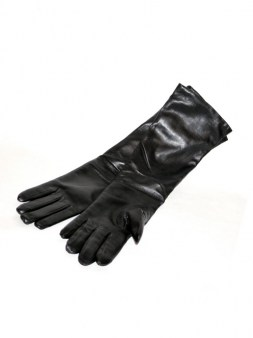 Перчатки чёрные  Ki6? Who are you? AV37. Image 3