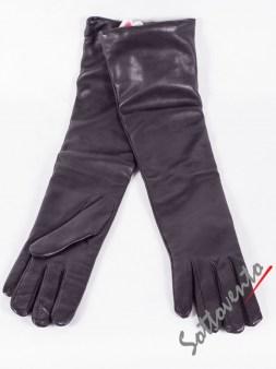 Перчатки чёрные  Ki6? Who are you? AV37. Image 0