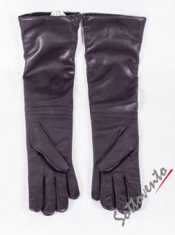 Перчатки чёрные  Ki6? Who are you? AV37. Image 1