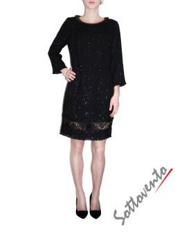 Платье чёрное  Ki6? Who are you? AV82. Image 0