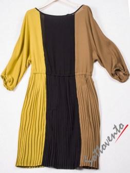 Платье чёрно-жёлто-коричневое  Ki6? Who are you? AV87. Image 4