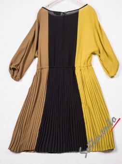 Платье чёрно-жёлто-коричневое  Ki6? Who are you? AV87. Image 5