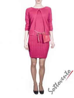 Платье розовое  Blugirl Folies 3965. Image 4