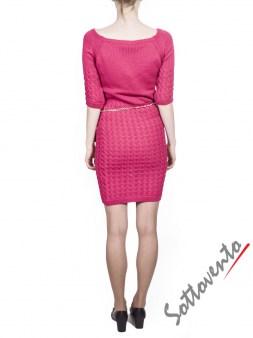 Платье розовое  Blugirl Folies 3965. Image 2