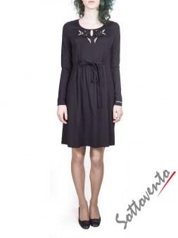 Платье  чёрное  Blugirl Folies 3908. Image 1