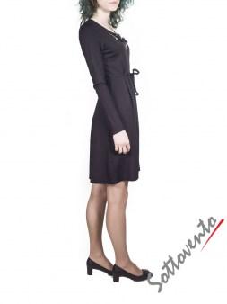 Платье  чёрное  Blugirl Folies 3908. Image 3