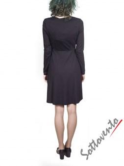 Платье  чёрное  Blugirl Folies 3908. Image 2