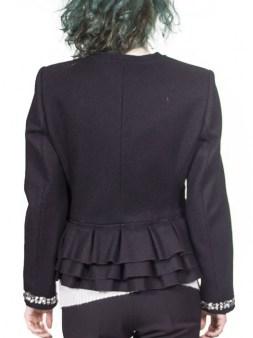 Пиджак чёрный  Blugirl Folies 0610. Image 1