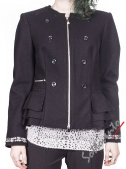 Пиджак чёрный  Blugirl Folies 0610. Image 0