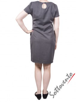 Платье серое  Blugirl Folies 3924. Image 1