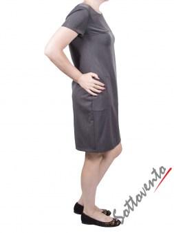 Платье серое  Blugirl Folies 3924. Image 2