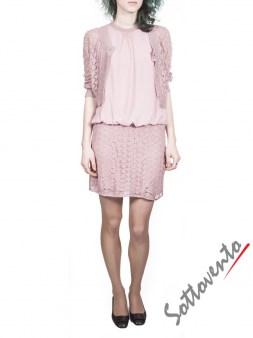 Платье розовое Blugirl Folies 3960. Image 4