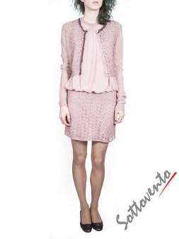 Платье розовое Blugirl Folies 3960. Image 3