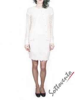 Платье белое Blugirl Folies 3959. Image 4