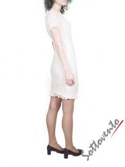 Платье белое Blugirl Folies 3959. Image 3