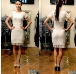 Платье белое Blugirl Folies 3959. Image 0