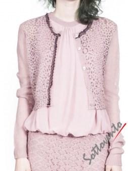 Кардиган светло-розовый  Blugirl Folies 1933. Image 0