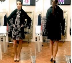 Платье серо-коричневое  Blugirl Folies 3942. Image 1
